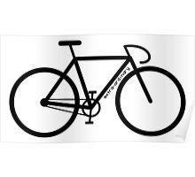 Bike Silhouette Poster