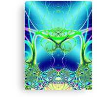 Water World Fractal Canvas Print