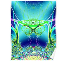 Water World Fractal Poster