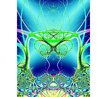 Water World Fractal Photographic Print