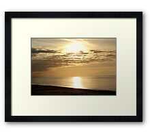 Another sunset in Chalkidiki.  Framed Print