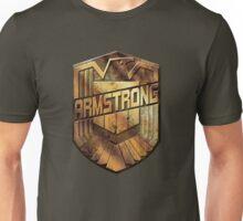 Custom Dredd Badge - (Armstrong)  Unisex T-Shirt