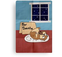 For Santa Canvas Print