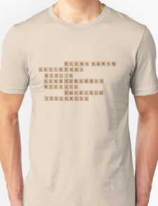 British Telly Scrabble Unisex T-Shirt