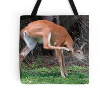 Man, I've Got An Itch, Right Here! Tote Bag