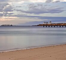 Ships, Silos, Sand and Sea by paul erwin