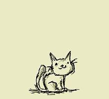 Cat Sketch by misterpep