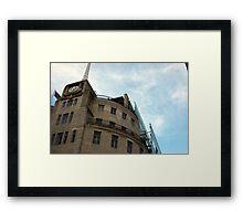 Broadcasting House Framed Print