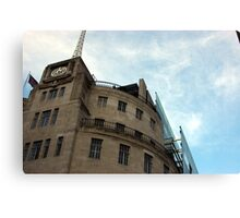 Broadcasting House Canvas Print