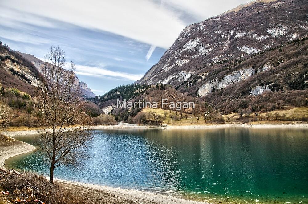 Lake Tenno, Italy. by Martina Fagan