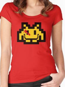 Who Watches The Invaders? Women's Fitted Scoop T-Shirt