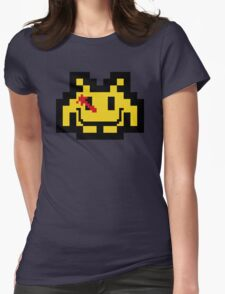 Who Watches The Invaders? Womens Fitted T-Shirt