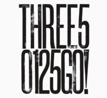 Three50125GO! T-Shirt