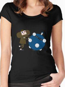 Allons-y Katamari Women's Fitted Scoop T-Shirt