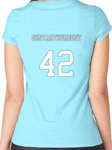 Dentarthurdent Jersey Women's Fitted Scoop T-Shirt
