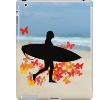 Butterfly surf - Wave rider  iPad Case/Skin