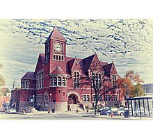 Amherst Town Hall Photographic Print