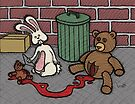 Teddy Bear and Bunny - The Abortion by Brett Gilbert