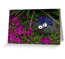 My pet rock................! Greeting Card