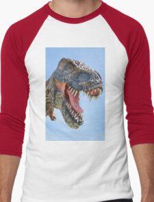 Tyrannosaurus Rex dinosaur Men's Baseball ¾ T-Shirt
