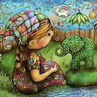 There&#x27;s an Elephant in my Garden by Karin  Taylor