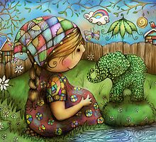 There's an Elephant in my Garden by © Karin (Cassidy) Taylor