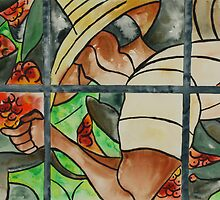 Stained Glass Window by Joyce Ann Burton-Sousa