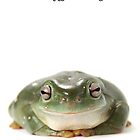A Tree Frog Happy Birthday 1P by Gerry Pearce