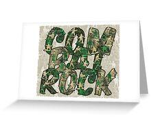 Combat Rock Greeting Card