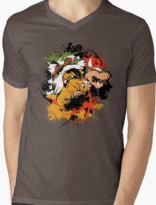 BOW DOWN 2.0 Mens V-Neck T-Shirt