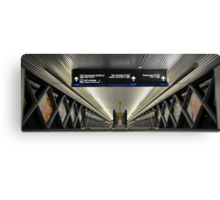 People Movers at Miami International Airport (MIA) in Florida Canvas Print