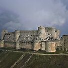 Crac des Chevaliers in Syria just days before the start of the civil war by MarcW