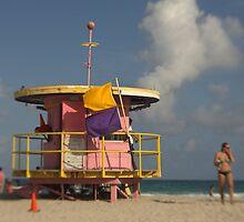 Miami Beach Lifeguard Hut by Kasia-D