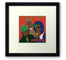 Black Moon - Enta Da Stage Framed Print