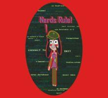 Nerds Rule - VFP Programmer Girl One Piece - Long Sleeve