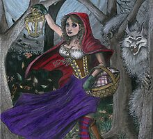 Little Red and the Big Bad Wolf by David Webb