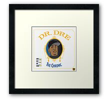 Dr Dre - The Chronic Framed Print