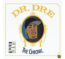 Dr Dre - The Chronic Photographic Print