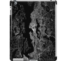 Seattle map Washington iPad Case/Skin