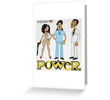 Ice-T - Power Greeting Card