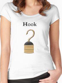 Hook, Captain Hook Women's Fitted Scoop T-Shirt