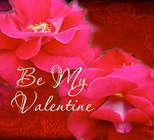 Valentine's Day Greeting Card - Romance and Red Roses by MotherNature