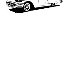 Ford Thunderbird Hardtop Coupe 1960 by garts