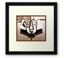 1955 Cadillac Hood Ornament Framed Print