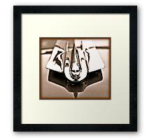 1955 Cadillac Hood Ornament Framed Print