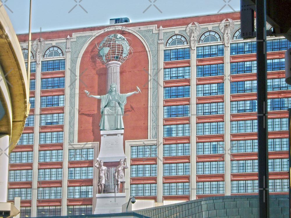 Sheraton Hotel Mural  by Susan S. Kline