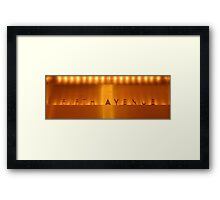 Fifth Avenue NYC Framed Print