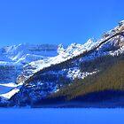 Snow Spirit of Lake Louise? by JamesA1