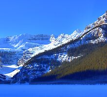 Snow Spirit of Lake Louise? by JamesA1