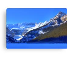 Snow Spirit of Lake Louise? Canvas Print